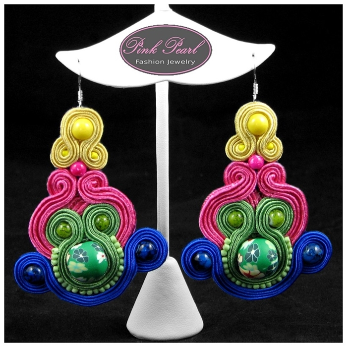 COLOURFUL MISH-MASH EARRINGS