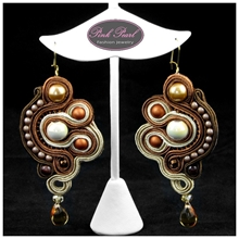 LATTE EARRINGS