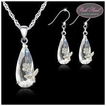 TEARDROP CRYSTAL SET